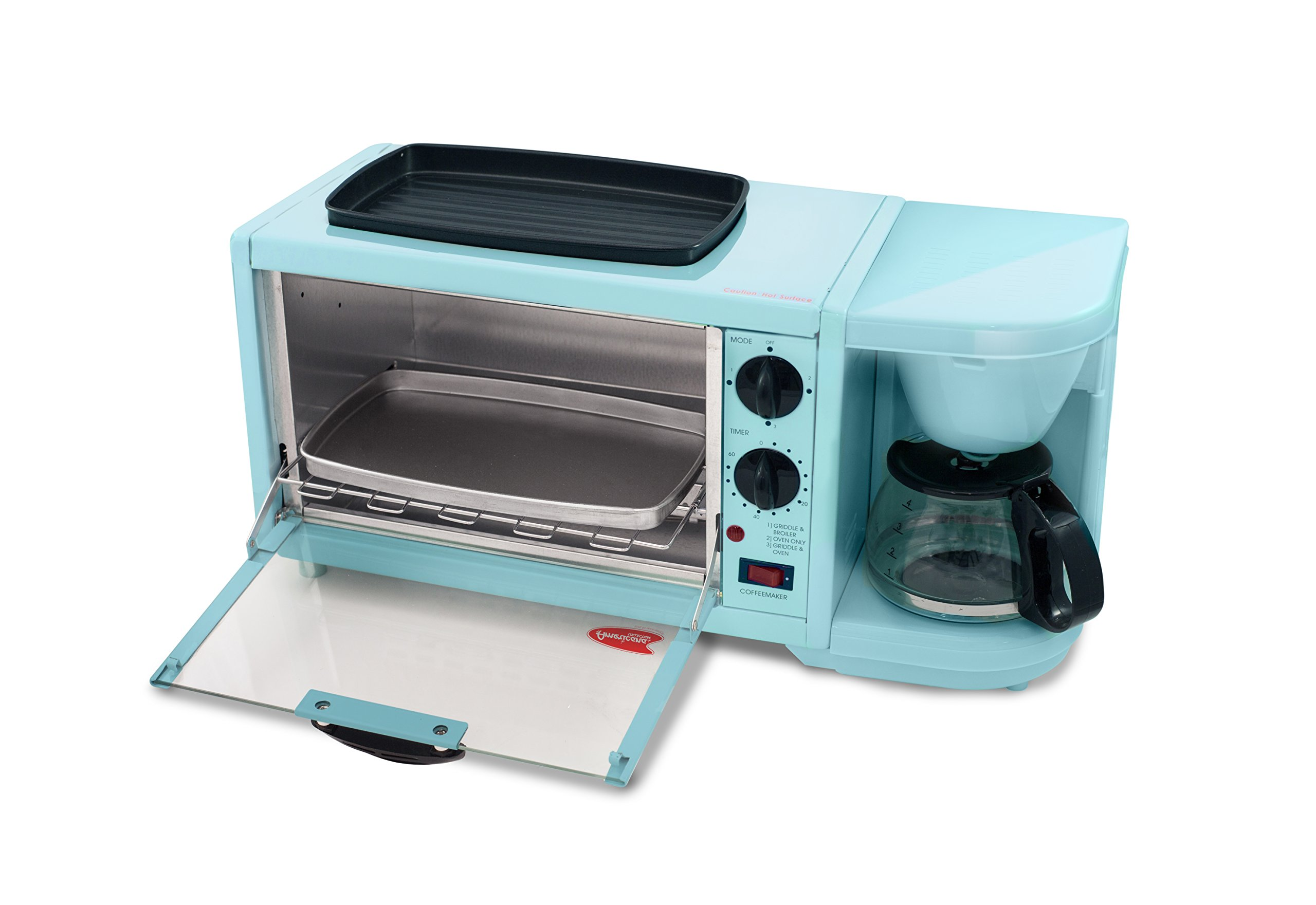 Elite Cuisine EBK-300BL Breakfast Center, Blue