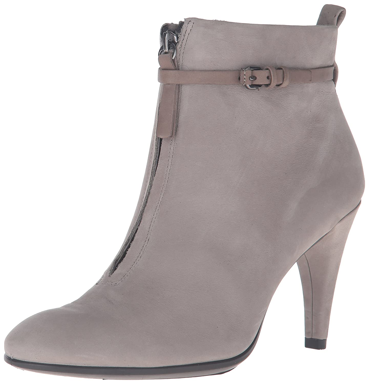 ECCO Women's Shape 75 Sleek Ankle Boot B01A9IUR32 40 EU/9-9.5 M US|Warm Grey Nubuck
