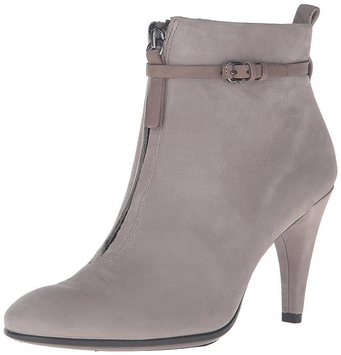 五颗星高分!ECCO爱步女式小高跟短靴低至$36.82