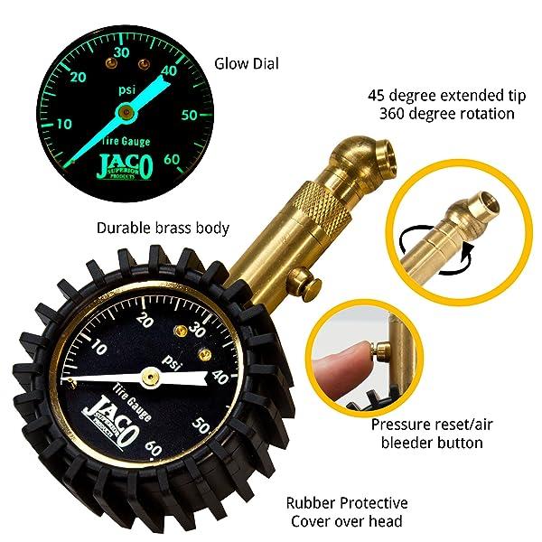 JACO Elite is one of the best mechanic-recommended digital pressure gauge