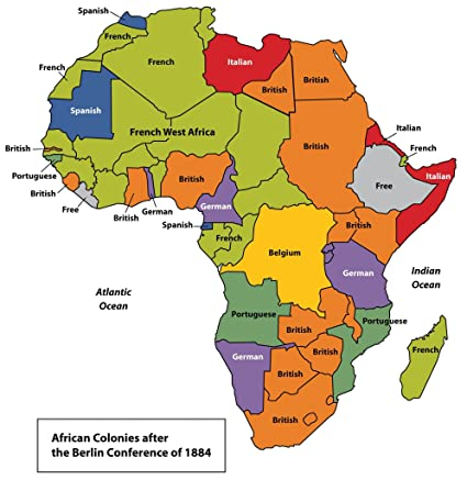 Amazon.com: Home Comforts Peel n Stick Poster of Map of African