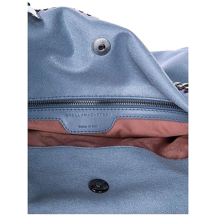 Stella McCartney sac à main femme falabella fold over shaggy deer blu   Amazon.fr  Chaussures et Sacs 4aa028e62ba9