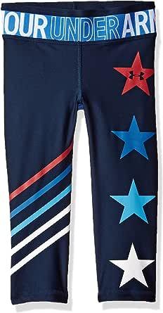Under Armour Pantalones capri Americana para niñas