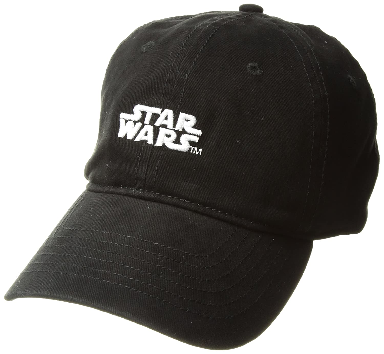 Star Wars Mens Stormtrooper Embroidery Dad Baseball Cap, Black ...