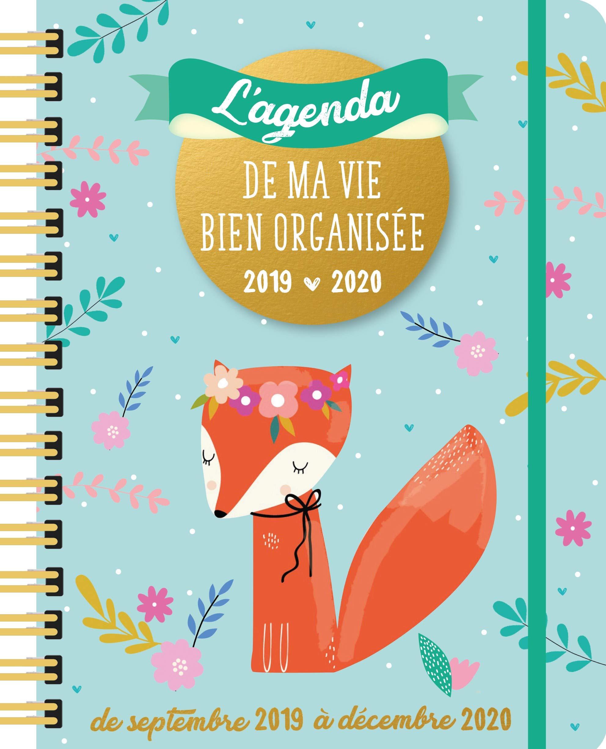 L Agenda de Ma Vie Bien Organisee 2019-2020: Amazon.es: Yolande ...
