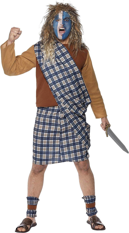 Smiffys - Disfraz de brave para hombre, talla M (31114M): Amazon ...