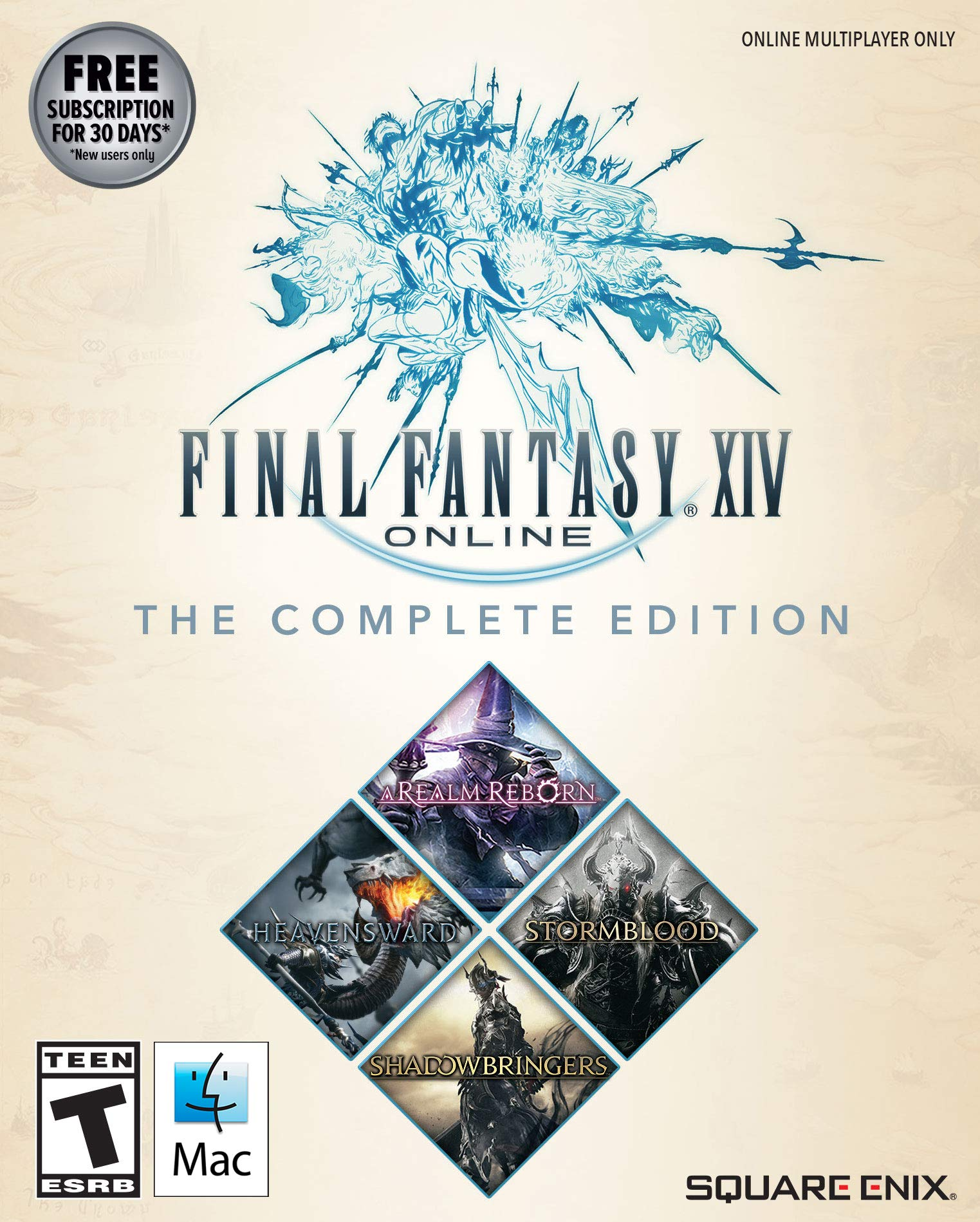 Final Fantasy XIV Online - Complete Edition  [Online Game Code] by Square Enix