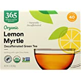 365 by Whole Foods Market, Organic Green Tea - Decaffeinated, Lemon Myrtle (40 Tea Bags), 2.1 Ounce
