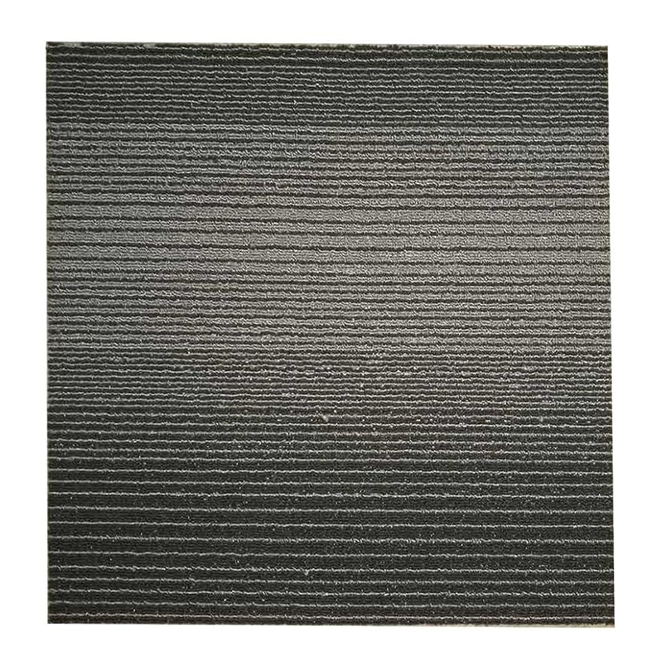 一貫したアルミニウムアクションタイルカーペット 50x50 激安 60枚セット 即日発送可能 LPシリーズ 裏面ビチューメン オルサン