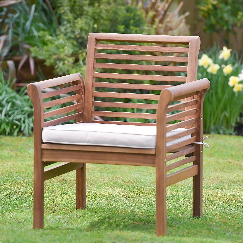 Plant Theatre in legno da giardino divano poltrona con cuscino incluso.–ottima qualità