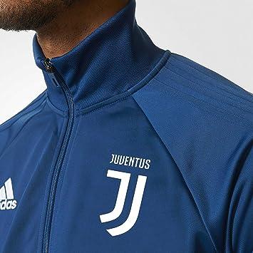 711e292c2 2017-2018 Juventus Adidas PES Tracksuit (Blue-Gold)
