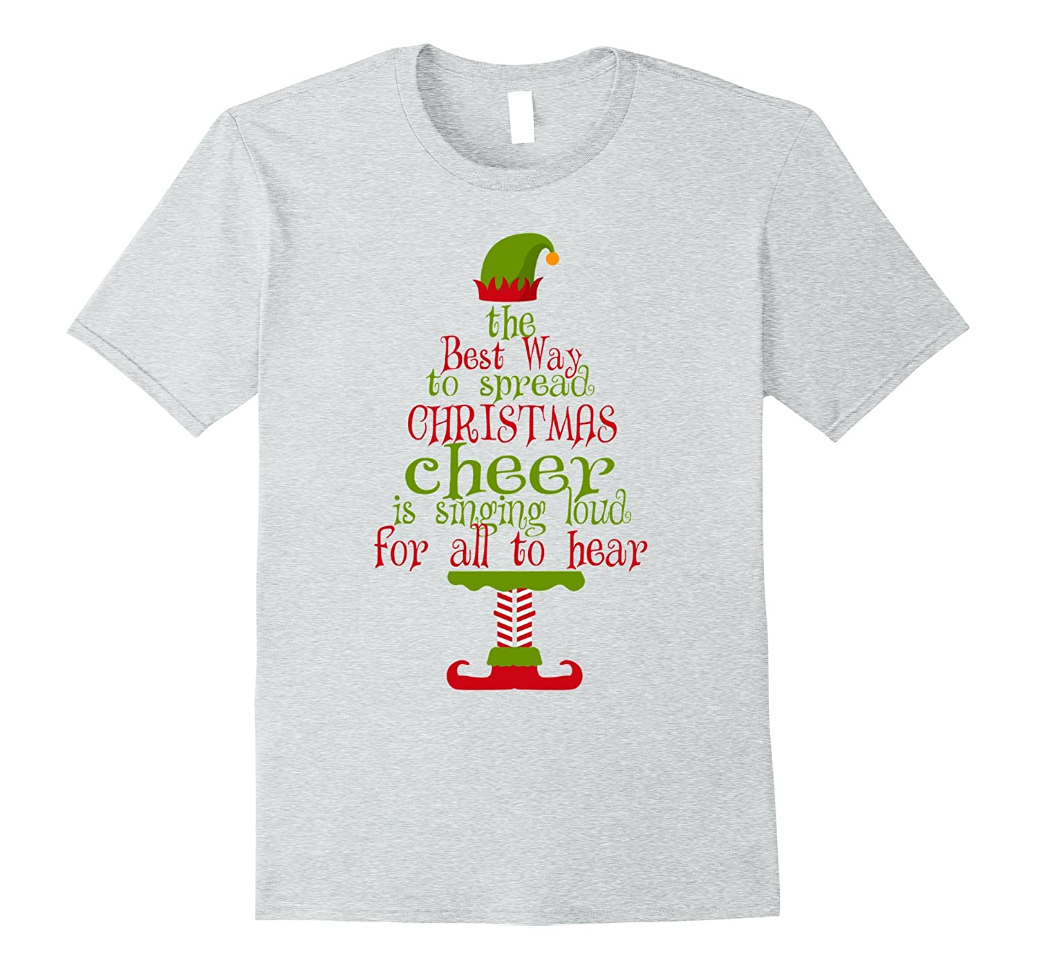 christmas elf t shirt the best way to spread christmas cheer ah my shirt