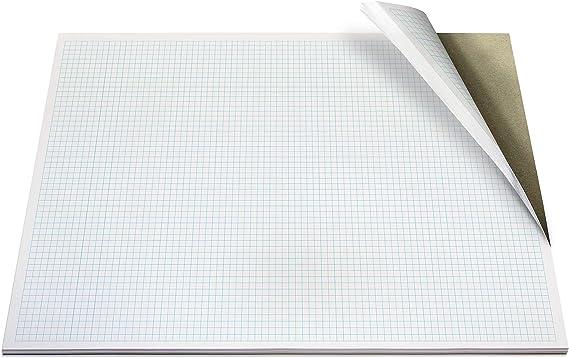 Bloc Papel Milimetrado Encolado A3 80g//m2 50 hojas
