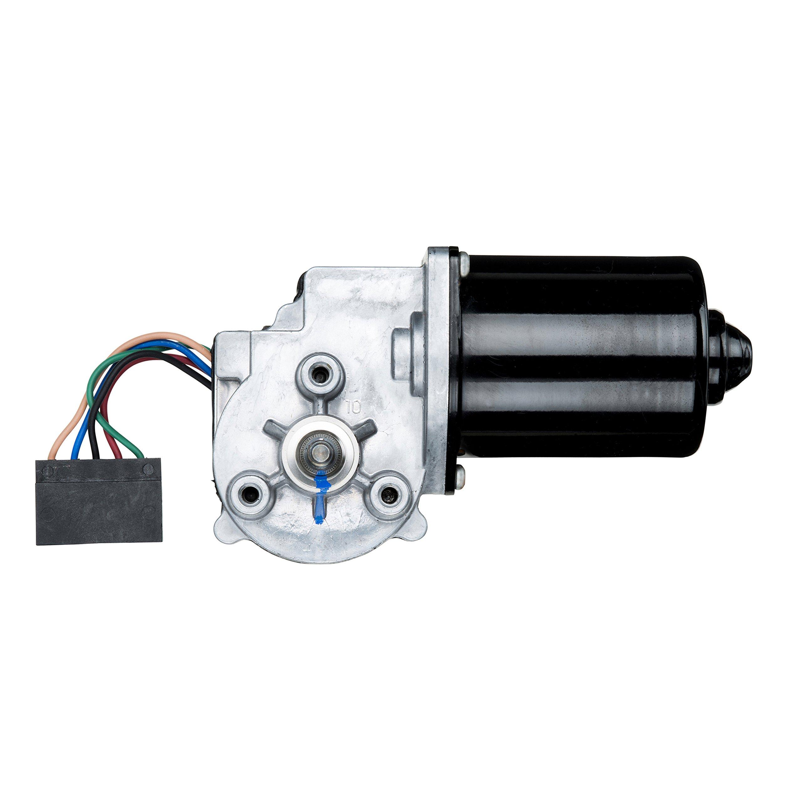 Wexco  Wiper Motor, 105716 24V, 32Nm Dynamic Park J3 Wiper Motor with JE/UT Connector