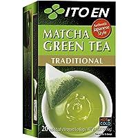 ITO EN Matcha Green Tea, Traditional, Tea Bags (20 Count)
