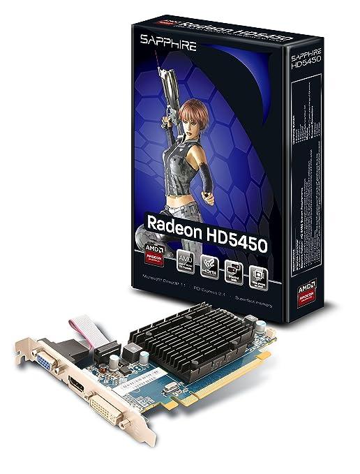 162 opinioni per Sapphire ATI Radeon HD5450 Scheda grafica (PCI-e, Memoria 1GB DDR3, HDMI, DVI, 1
