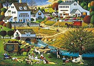 product image for Buffalo Games - Charles Wysocki - Hound of the Baskervilles - 300 Large Piece Jigsaw Puzzle