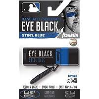 Franklin Sports MLB Eye Black – Reducción de deslumbramiento de ojos negros para todos los atletas – Ojo de béisbol negro o softball ojo negro – pintura de ojos negros para niños, adultos, atletas, béisbol, jugadores de softball