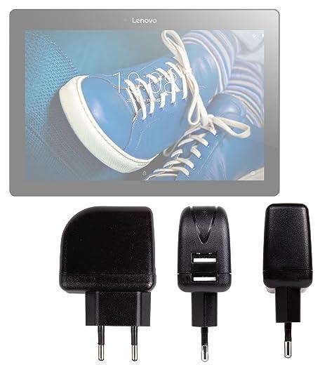 DURAGADGET Cargador con Enchufe Europeo para Tablet Lenovo Tab 2 A10-70F - 10.1