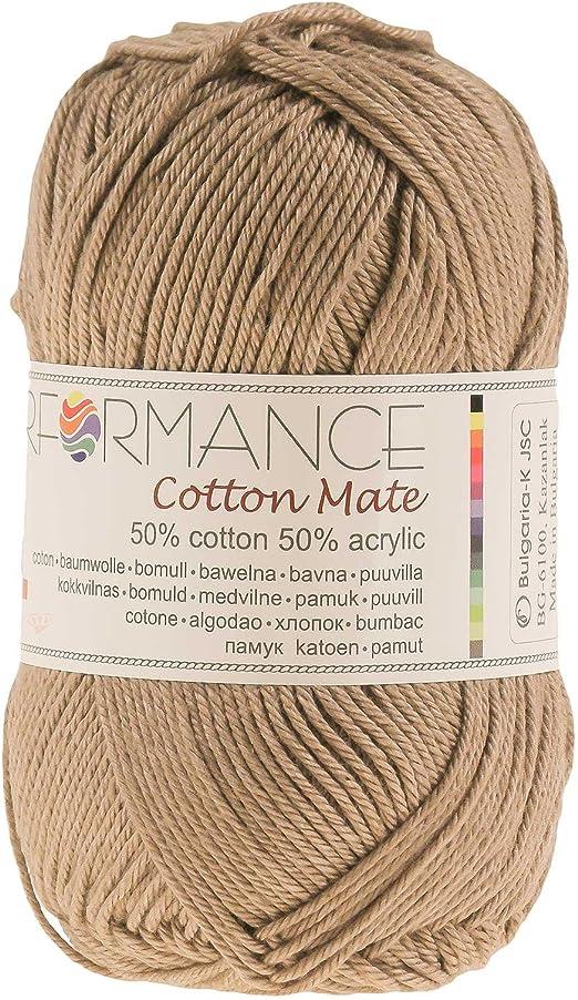 maDDma - Ovillo de lana (algodón, 50 g): Amazon.es: Hogar