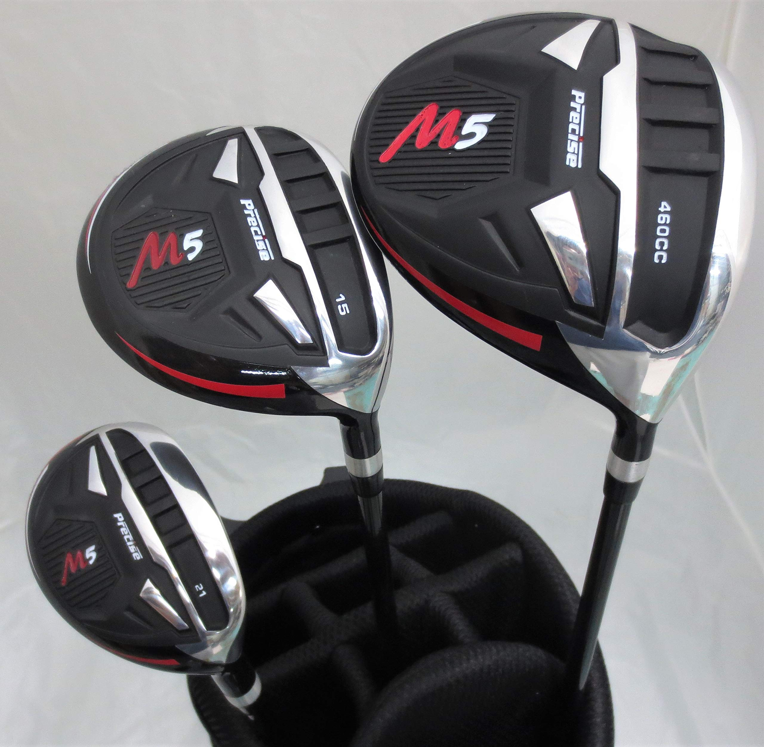 Tartan Sports New Teen Golf Club Set Complete with Stand Bag for Teenagers Ages 13-16 Driver, Wood Hybrid, Irons Putter by Tartan Sports (Image #3)