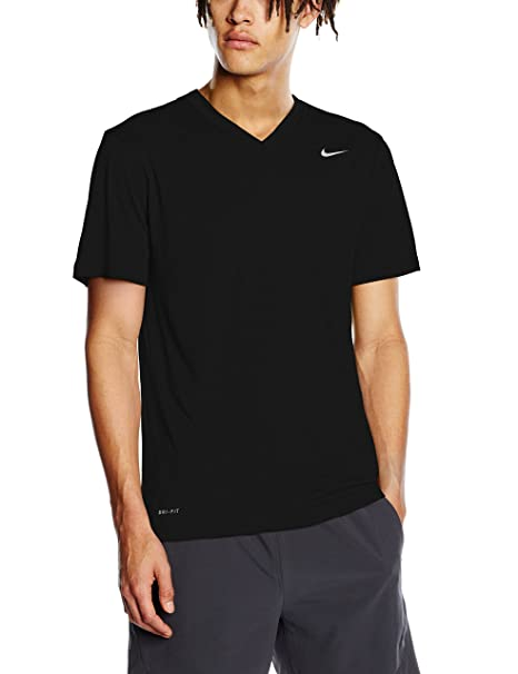 314f1587 Nike Men's Legend 2.0 Short Sleeve V-Neck Tee at Amazon Men's Clothing  store: