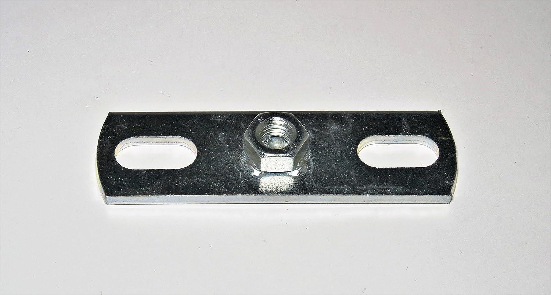 Montageplatte mit Gewindemuffe M10