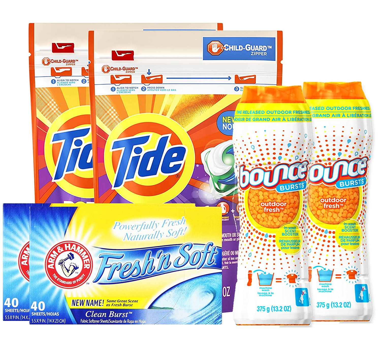 vers 40 år Amazon.com: Tide Downy Laundry Bundle Pack, TIDE Pods 3 in 1  vers 40 år