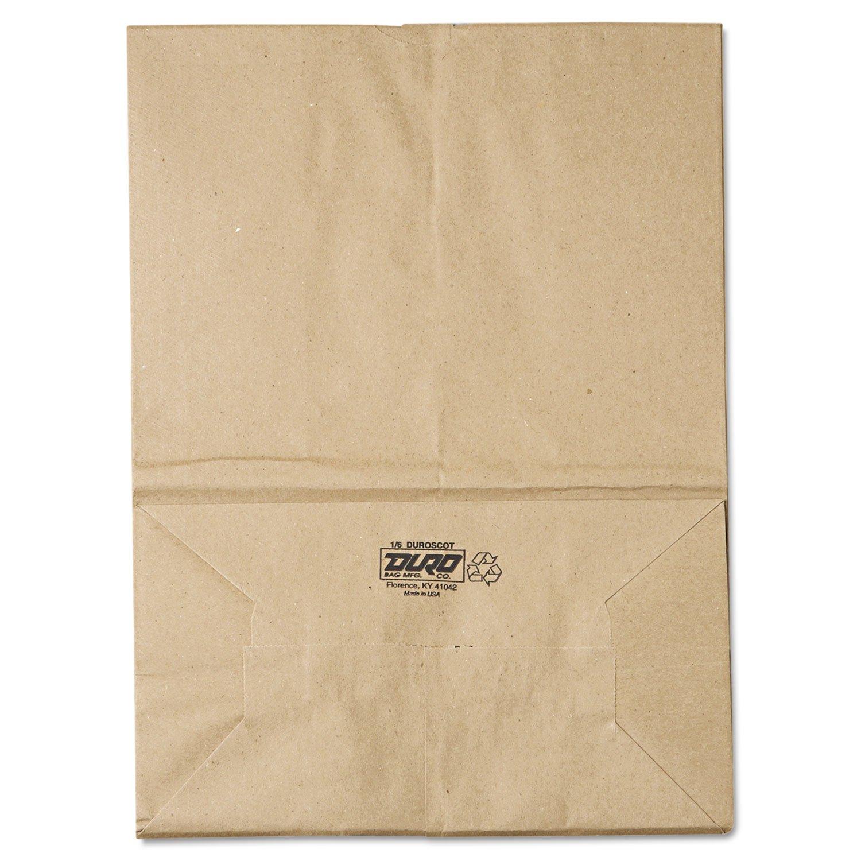 1 / 6 57 #紙バッグ、57lbクラフト、ブラウン、12 x 7 x 17 , 500 /バンドルby :一般   B00ZABH7K0