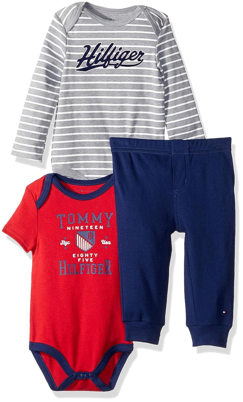 贅沢品 Tommy Hilfiger - PANTS ベビーボーイズ 6 - Hilfiger 9 Months 6 Gray/Red/Navy B079JGLMFQ, YASORA:2ad215c6 --- a0267596.xsph.ru