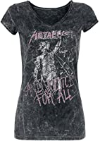 Metallica ...And Justice For All Girl-Shirt schwarz