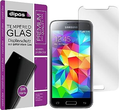 Protector de Pantalla compatible con Samsung Galaxy S5 Mini Dipos® Premium Cristal Vidrio Templado: Amazon.es: Electrónica