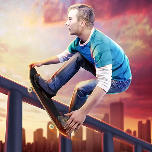 True Skate Skateboarding Extreme Tricks Simulator (Shoes Rival Skate)