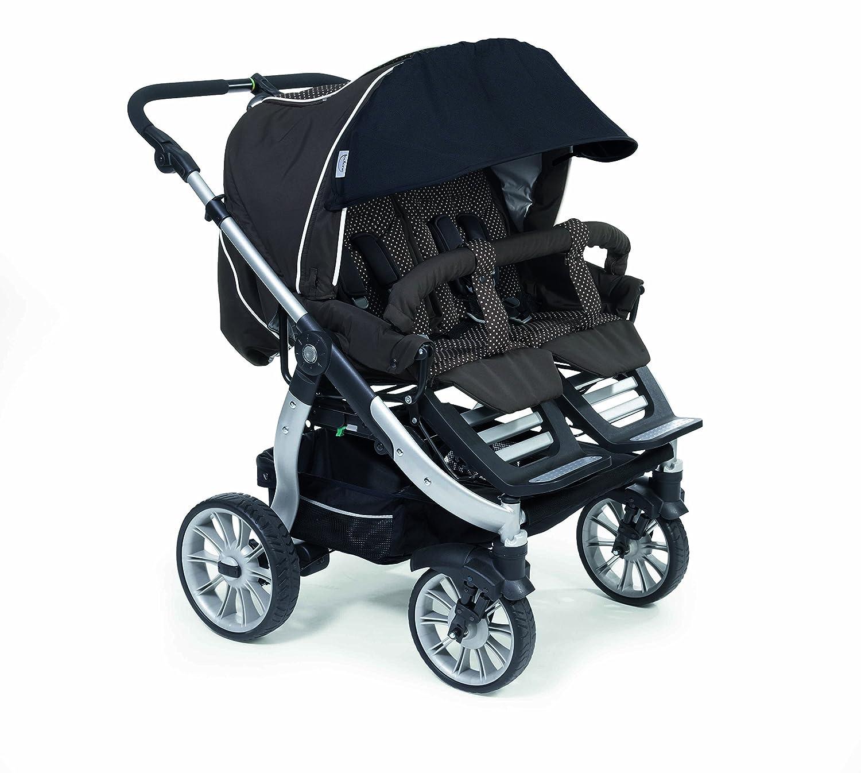 Teutonia Sunset - Protector solar para carrito de bebé Team Cosmo, color negro: Amazon.es: Bebé