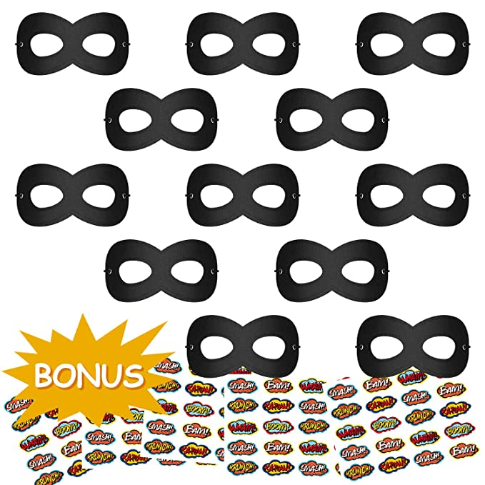 Kids Eye Super Hero Mask for Halloween Costumes Cosplay Party Child Game Gift