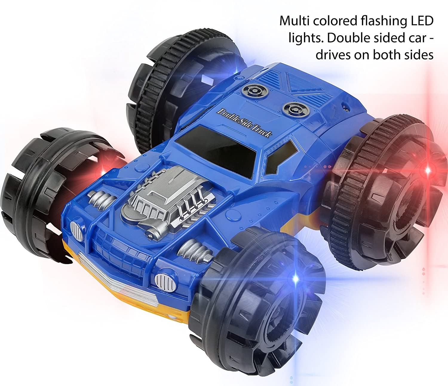 Click N Play CNP8429 Double sided Tumbling Stunt Rolling RC Remote Control Car