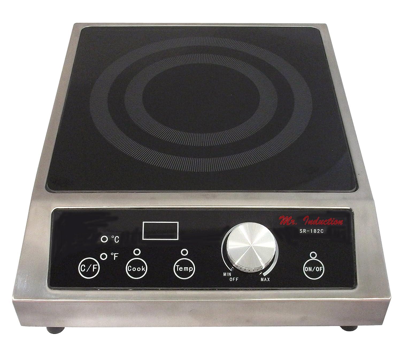Amazon.com: Mr. Induction SR 182C 1800 Watt Countertop Commercial Range:  Electric Countertop Burners: Kitchen U0026 Dining