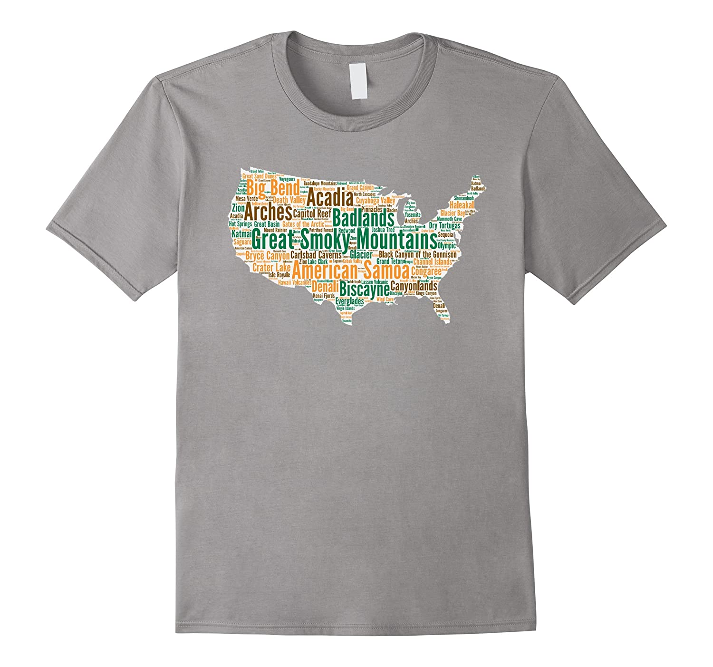 National Parks T Shirt National Park T Shirt-TH