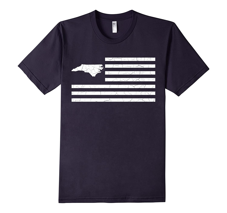 50nifty States  Stripes Collection- North Carolina T-shirt-TH