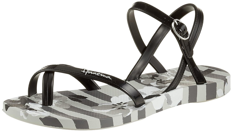 Ipanema Damen Fashion Sand V Fem Zehentrenner  35/36 EU|Mehrfarbig (Grey/Black)
