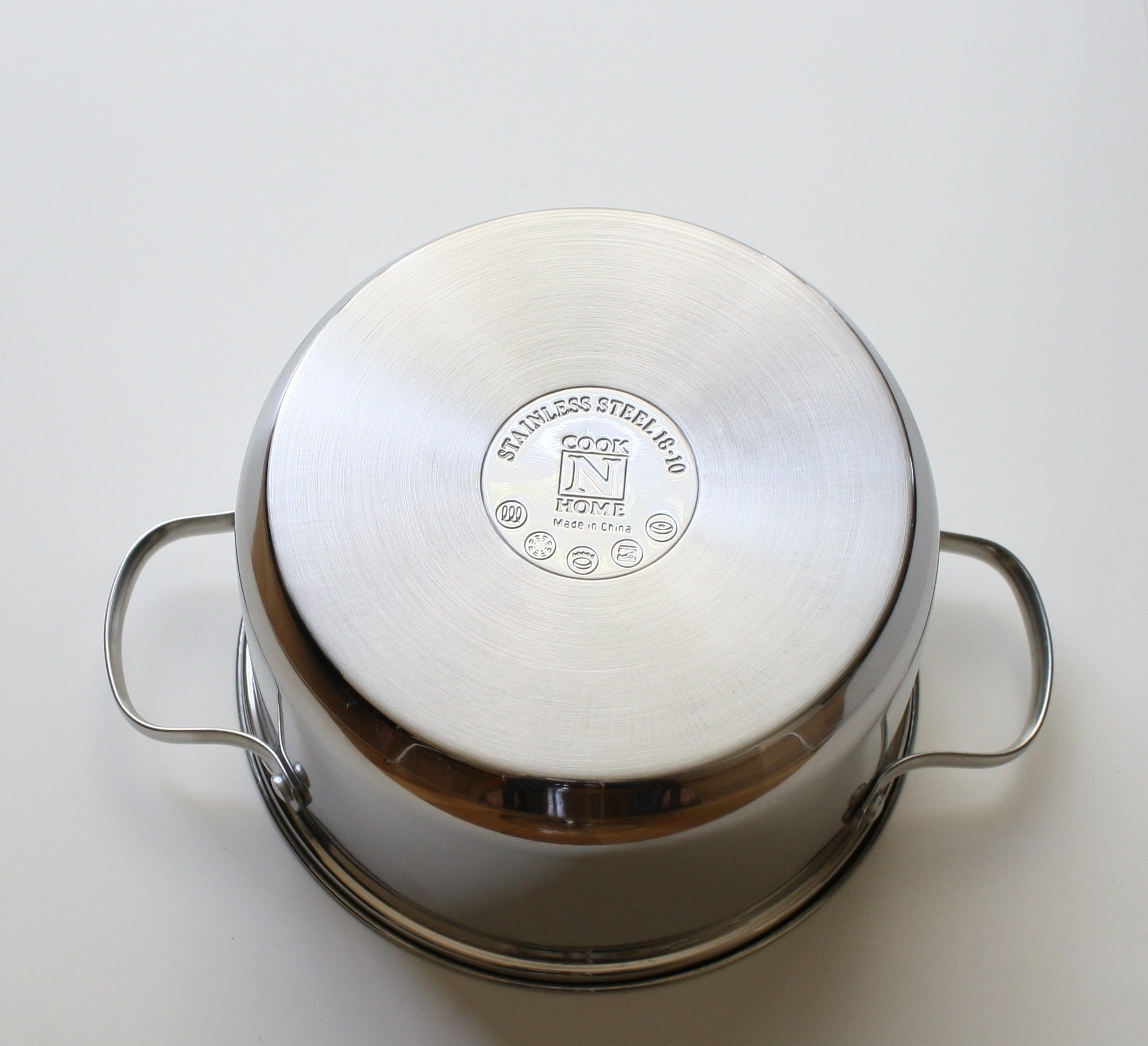 Cook N Home NC-00313 Double Boiler Steamer 4Qt silver by Cook N Home (Image #4)