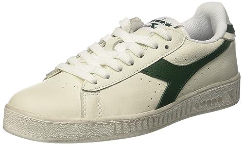 Diadora Men s Game L Low Waxed Court Shoe Green  Amazon.ca  Shoes ... 91761f4c8ca