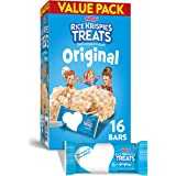 Kellogg's Rice Krispies Treats, Crispy Marshmallow Squares, Original, Value Pack, 12.4oz Box (16 Count)