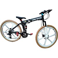 Gogo A1 Land Rover 26 Inch High Carbon Steel Frame Foldable / Folding Mountain Bike / Bicycle With 24/27 Speed Gear And Double Disc Brake