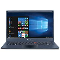 (Renewed) iBall Marvel 6 V 2.0 2017 14-inch Laptop (Intel Celeron Processor N3350/3GB/32GB/Windows 10 Home/Integrated Graphics), Metallic Grey