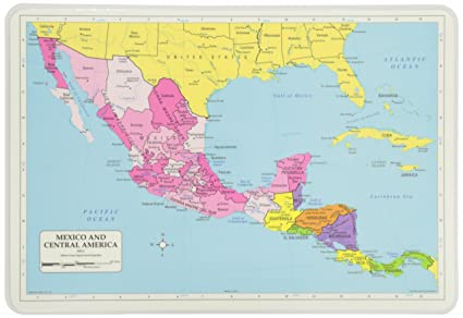 Painless Learning Mexico and Central America Placemat
