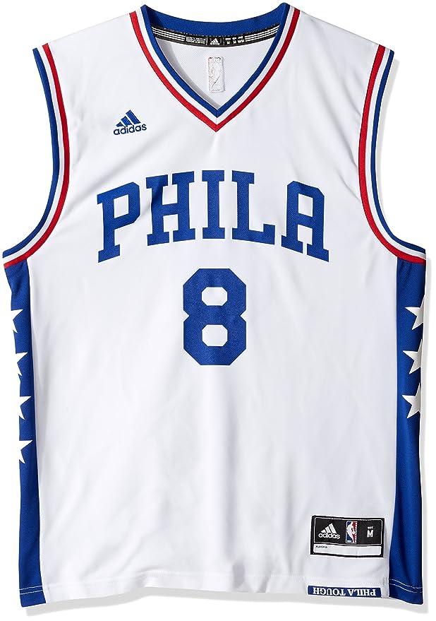 NBA Men's Philadelphia 76ers Okafor Replica Player Home Jersey