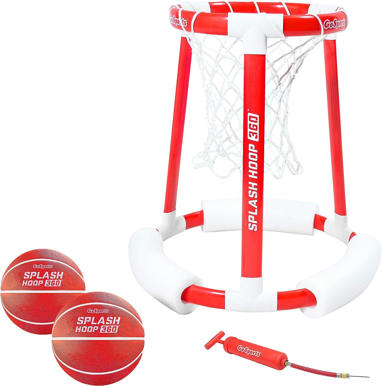 2. Splash Hoop 360 Review - Best Floating Pool Basketball Hoop