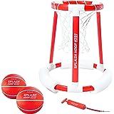 GoSports Splash Hoop 360 & Splash Pass Floating Pool Games - Choose Between Basketball, Football and Lacrosse - Set…