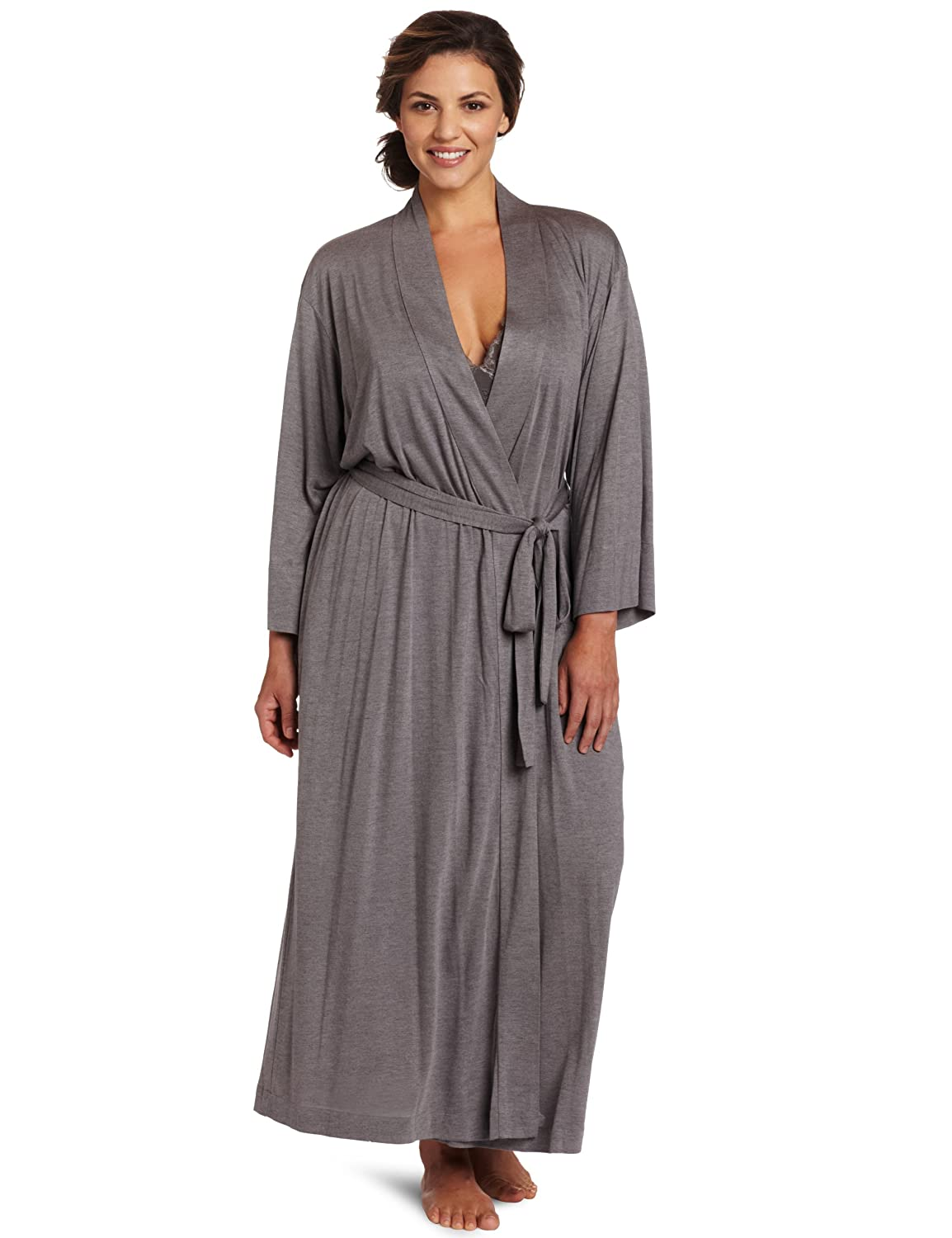 Natori Women's Plus-Size Shangri-La Robe Plus Natori Women's Sleepwear S88274X